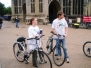 First ever Norwich Peace Cycle 2006 part of 2nd International Peace Cycle