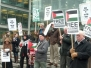 Gaza Vigil/rally January 2011