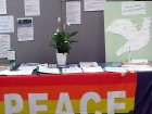 Peace Camp table
